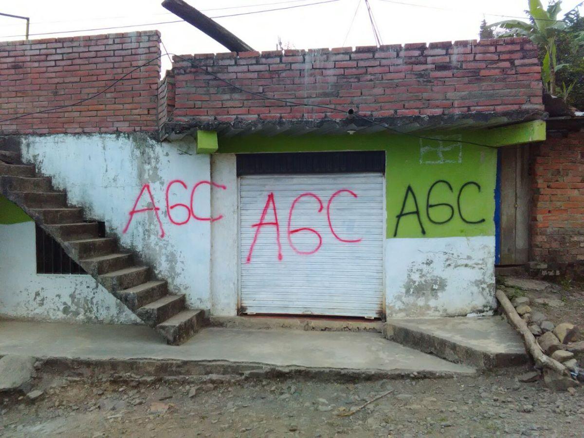 Paramilitarismo en el suroccidente colombiano