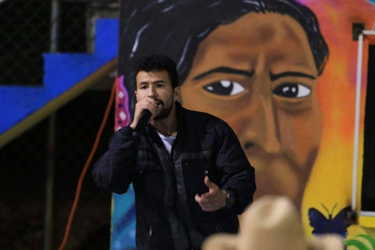 Anderley, el cantante fariano que se inspira en la paz