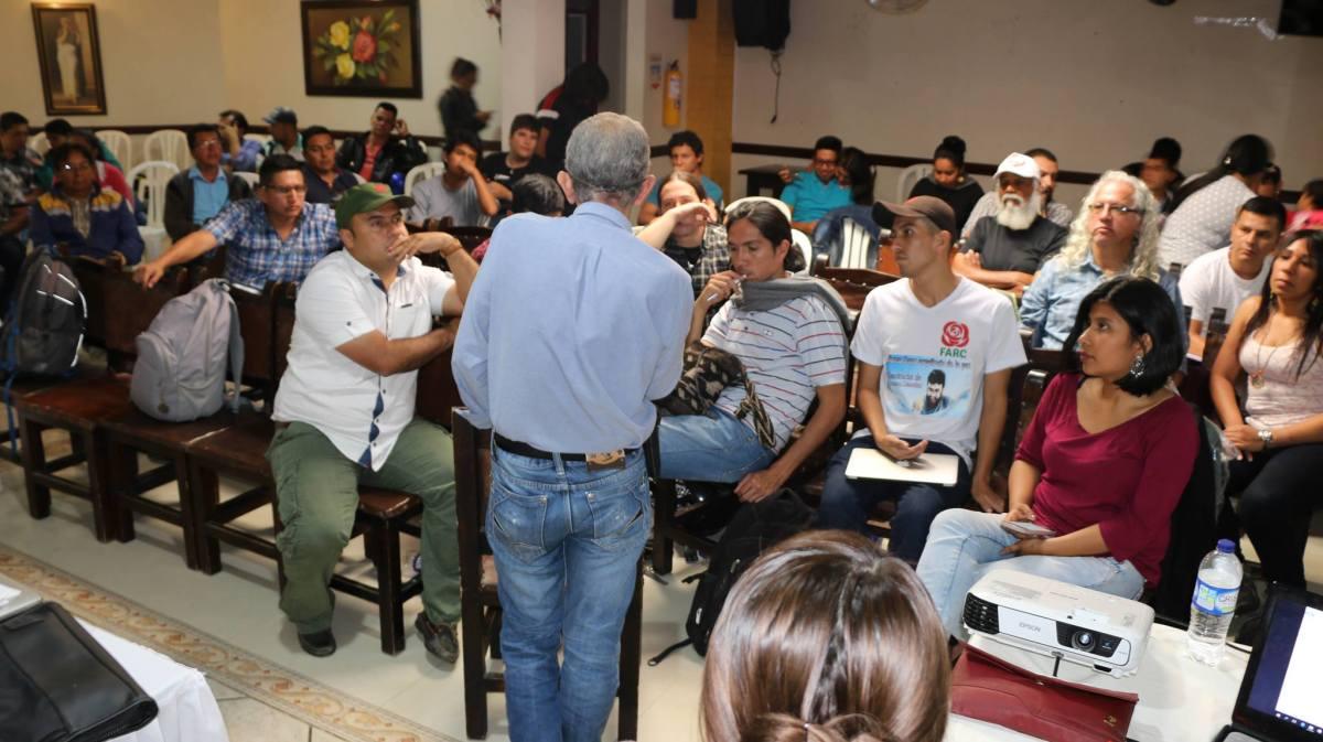La Fuerza Alternativa revolucionaria del Común, ya está en Popayán
